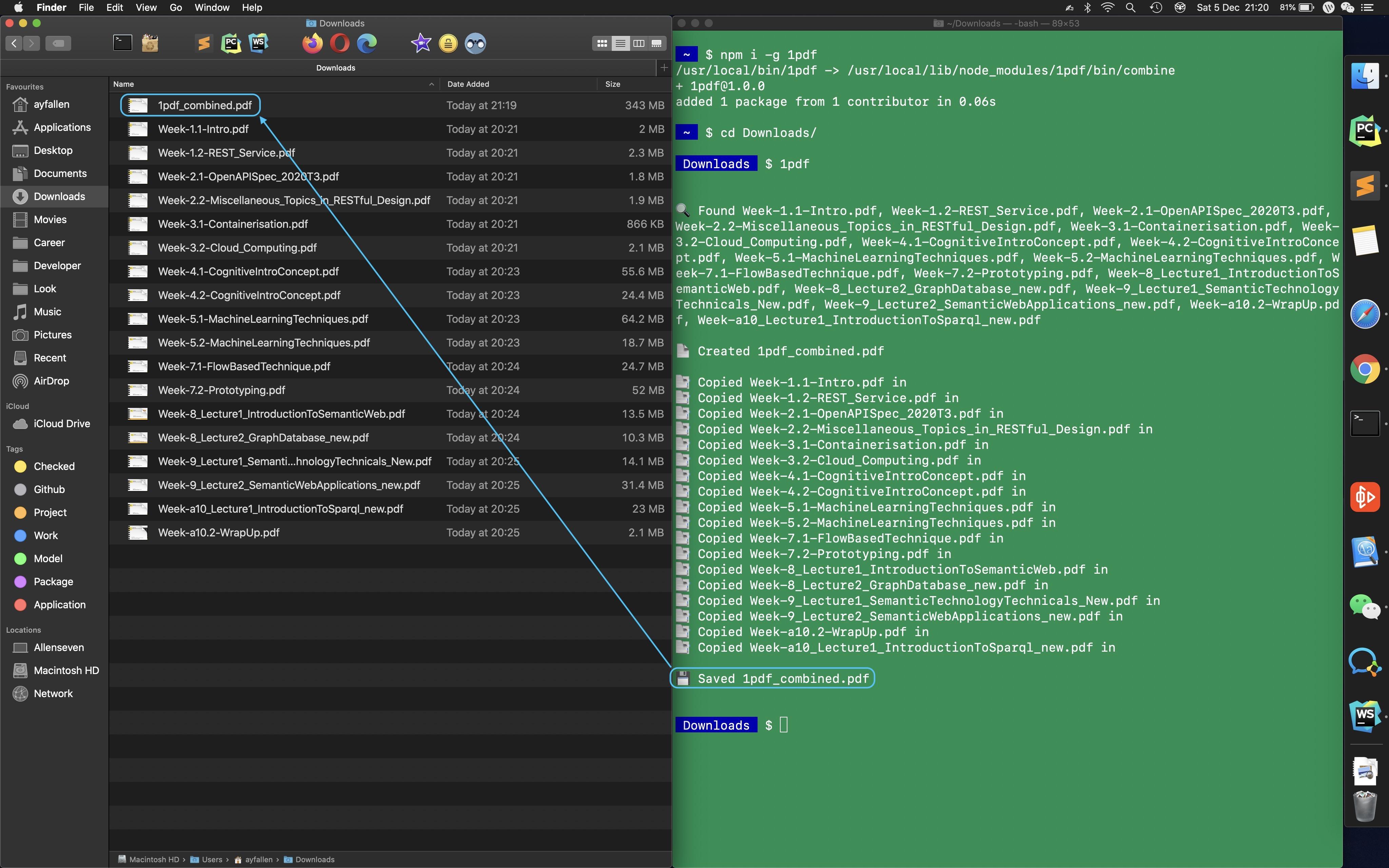 1pdf usage demo